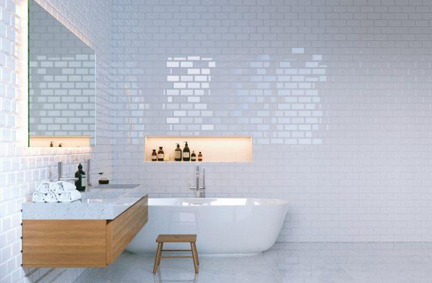 Obstaja več načinov, da zagotovimo edinstven izgled kopalnice