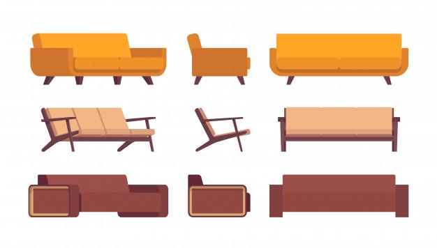 Klasičen ali moderen kavč
